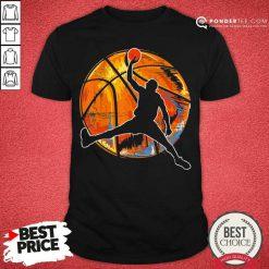 Vintage Retro 70s Basketball Shirt